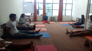 Workshop on work commitment and stress management