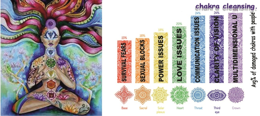 Chakra Cleaning Sticker