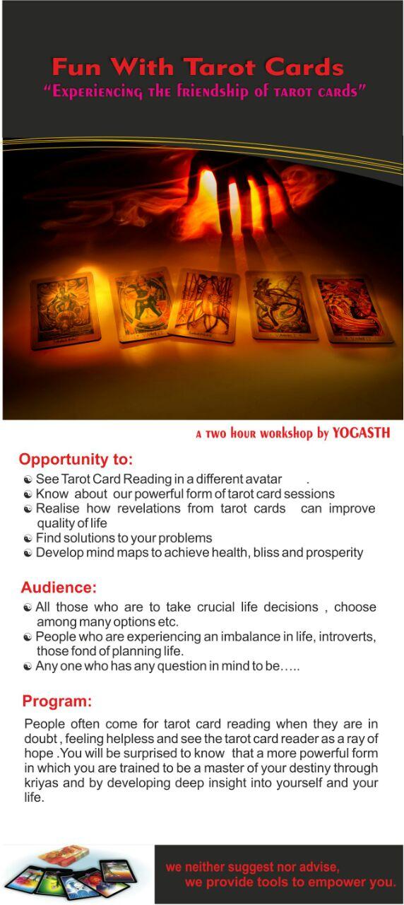 Tarot Card Workshop Detail