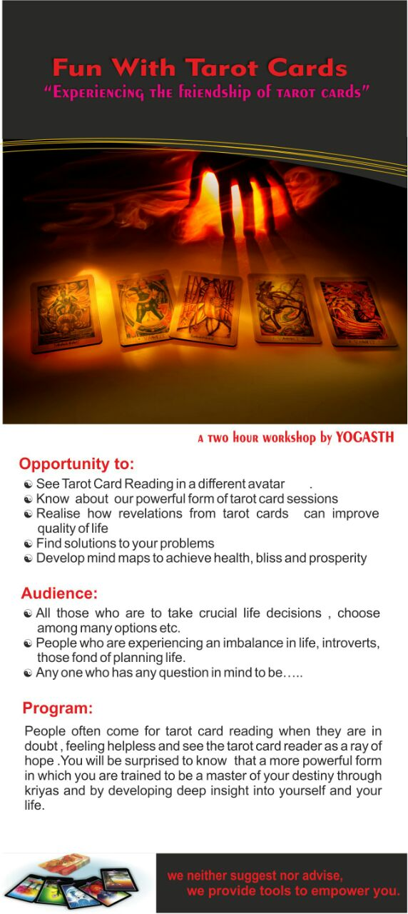 Tarot Card Workshop Detail