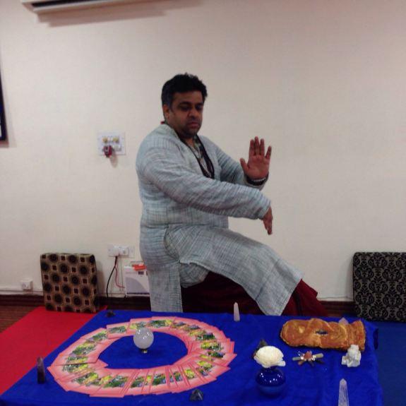 Yogi Vikram Mittal In Natraaj Pose