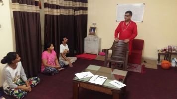 Yogi BuddhaDeva Teaching Reiki
