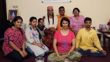 Yogi BuddhaDeva reiki session