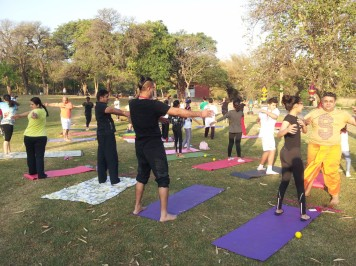 Yoga Camp Leisure Valley
