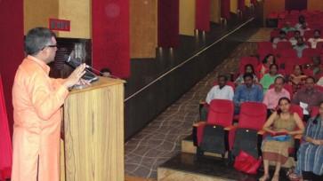 Yogi BuddhaDeva addressing at NITTR